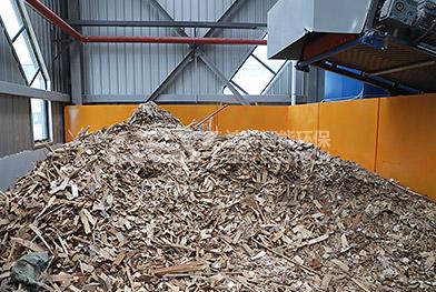 Ligne de production d'élimination des déchets volumineux de la Chine Zhengzhou