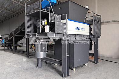 Projet de recyclage des déchiqueteurs de métaux