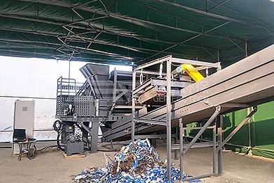 Projet de traitement des déchets encombrants
