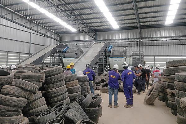 GEP ECOTECH a une super astuce sur le recyclage des pneus usés