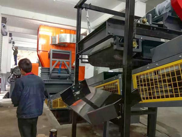Un système intelligent de déchiquetage et d'élimination des déchets encombrants à Fujian, en Chine, est officiellement mis en production