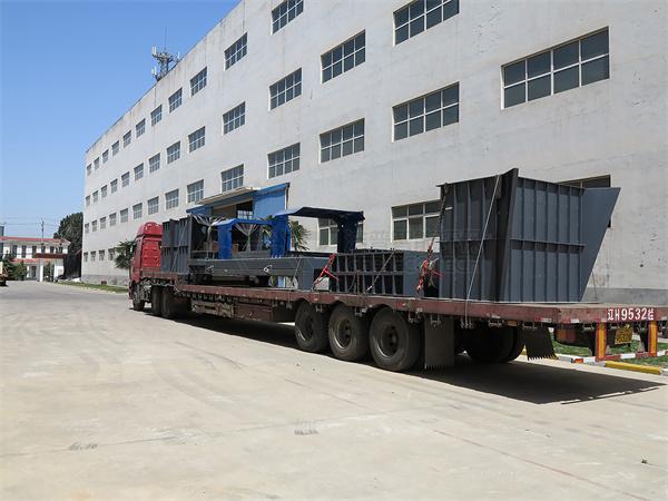 L'équipement de broyage de la biomasse a été expédié