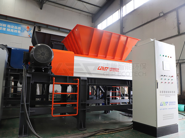 L'équipement de prétraitement des déchets dangereux GEP est prêt à être livré au Xinjiang