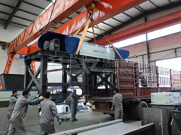 De gros équipements d'élimination des déchets du district de Guancheng ont été livrés, le deuxième centre de tri de Zhengzhou a atterri!