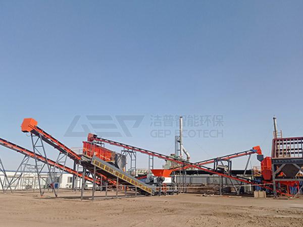 Le système de pré-élimination des déchets dangereux GEP est livré au champ pétrolifère du nord-ouest de la Chine