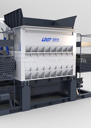 GE série broyeur fine d'europeen de dechet solides